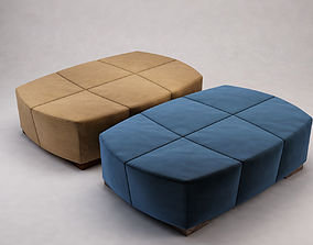 Suede Benches 3D