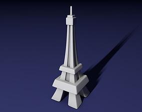 Eiffel tower 3D print model