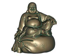Maitreya decor 3D printable model 3D model game-ready