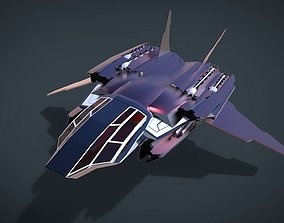 3D model Chang Khel SpaceShip