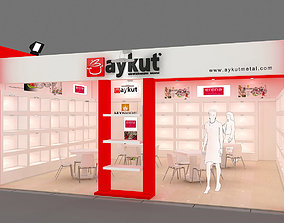 3D model Exhibition Stand - ST0041