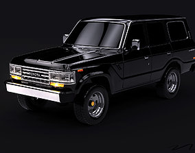 Toyota Land Cruiser J60 3D model