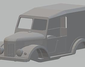 GAZ 69 Printable Body Truck