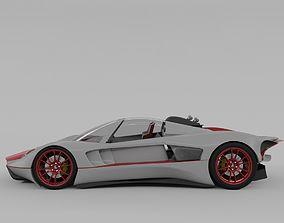 3D model Lemsis Neo super sports racing car concept design