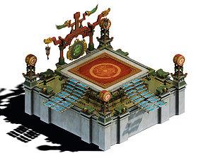 3D model Main City - Arena