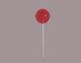 Lollipop 3D asset