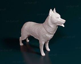 Siberian Husky 3D printable model siberian