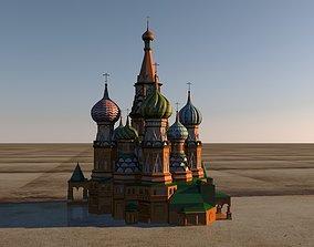 3D Saint Basils Cathedral
