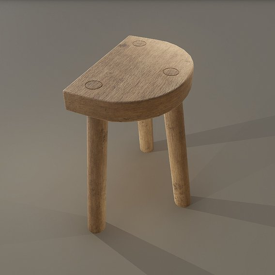 Stool 3 legged