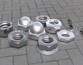 Bolt Pack 3D model low-poly