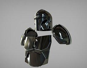 Full Beskar armor from The Mandalorian 3D print model