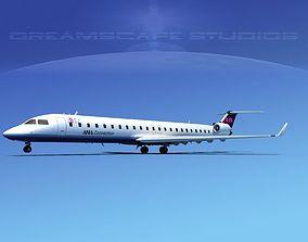 Bombardier CRJ900 Ibex 3D model