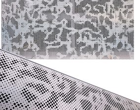 perforated metal panel N17 3D