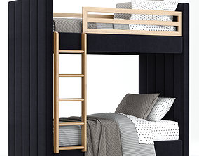 RH Baby and Child Caever Bunk bed 3D model