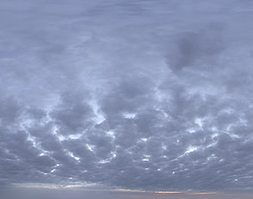 Skydome HDRI - Dusk Clouds II dusk 3D model