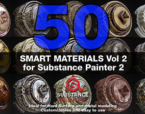 materials 3D Substance Painter Smart Materials Vol 2