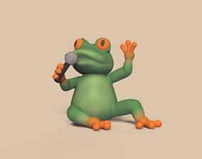 3D print model Singer Frog