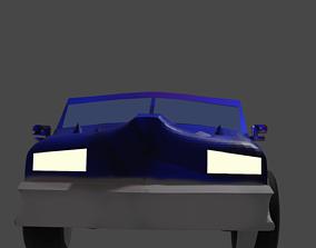 3D asset LOW POLY TRUCK MODEL