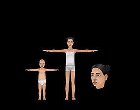 3D model Child - Female