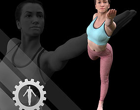 Female Scan - Katia 21 3D asset