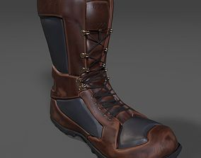 Hiking Boot 3D model
