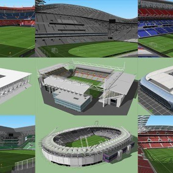 Euro2016 France Stadiums