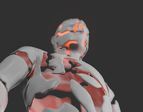 Abstract statue 3D model VR / AR ready