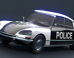 Retro Vehicle - Citroen DS - 3D asset