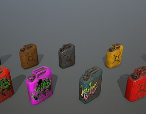 Jerry Can 3D asset realtime