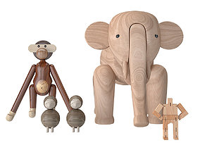 Kay Bojesen Collection 06 3D model