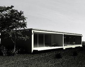 3D model Modern Villa Outside Of The City