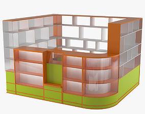 Retail Store Equipment 3D model