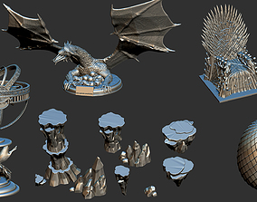 Game Of Thrones - Collectible Full Collection 3D Print