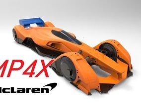 formula McLaren MP4X 3D model