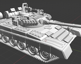 T 80 Russian Tanks 3D printable model
