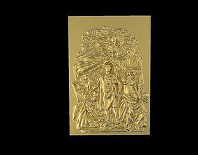 Triumphal Arch bas-relief 3D printable model
