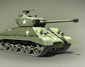3D Sherman M4A3E8 76 HVSS the Easy Eight USA 1944