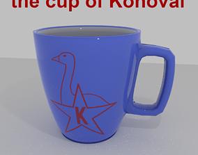 3D model cup konoval squad