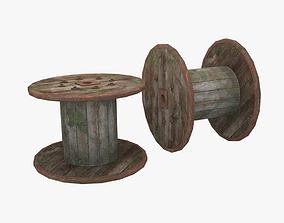 3D model Old Spool