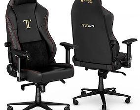 3D Secretlab TITAN 2020 gaming office chair