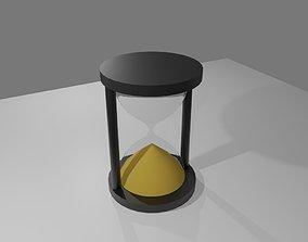 Hourglass - Sand Timer - Ampulheta 3D asset