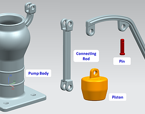 3D printable model Water Pump