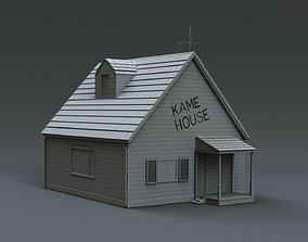 3D model kame house dragonball
