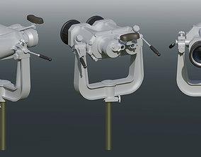 3D model animated Ships binoculars