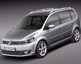 3D Volkswagen Cross - Touran 2012