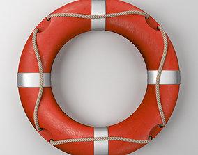 Lifebuoy sea 3D