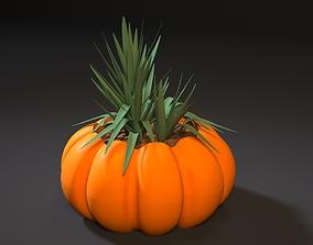 planter pumpkin 3D print model