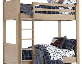 RH Baby and Child Wyler Bunk bed 3D model