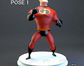 pixar Mr Incredible Printable pose 1