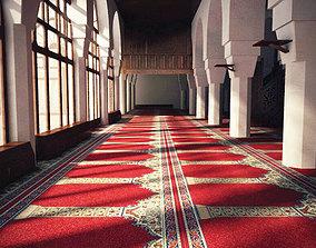 old Islamic mosque Interior 3D model